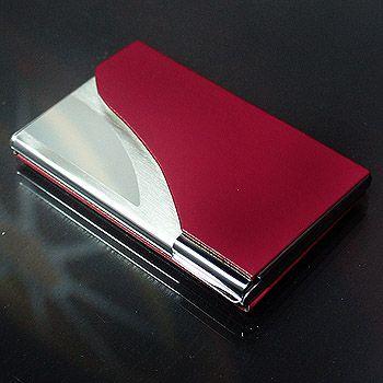 雷射雕刻名片盒、信用卡夾