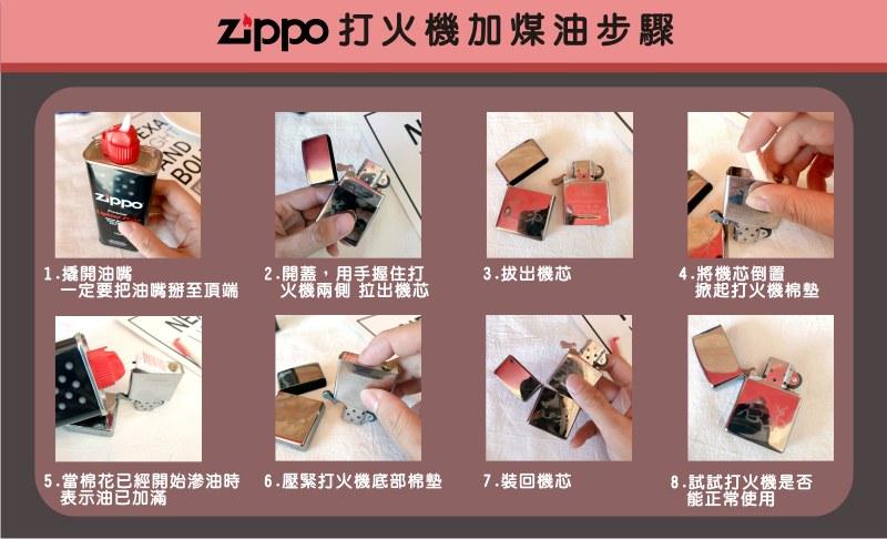 zippo補充油