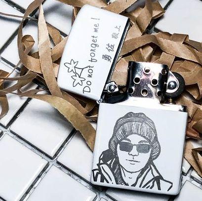 金屬雕刻打火機、菸盒
