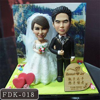 婚禮-情人公仔場景組