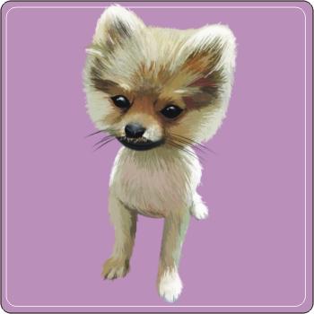 寵物Q版畫