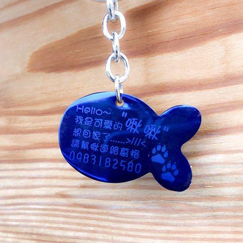 金屬雕刻寵物牌
